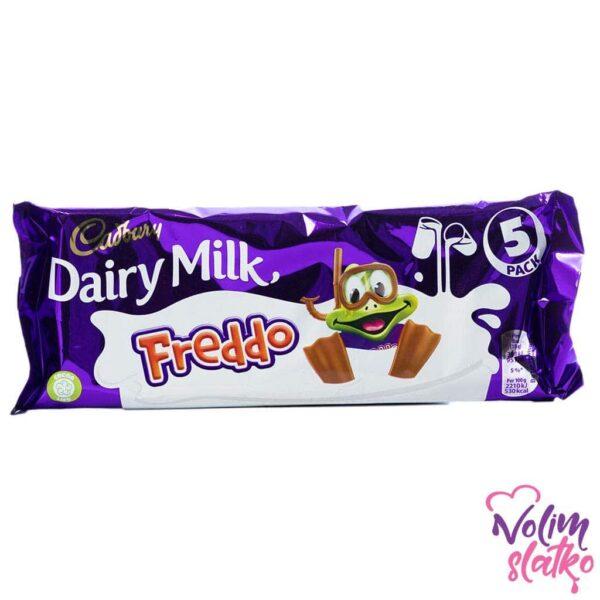 Cadbury Dairy Milk Freddo 5 pack 90g 1