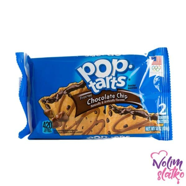 Pop Tarts Chocolate Chip 96g 1