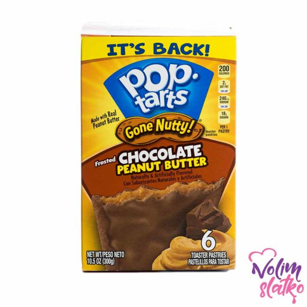 Pop Tarts Gone Nutty - Frosted Chocolate Peanut Butter 300g 1