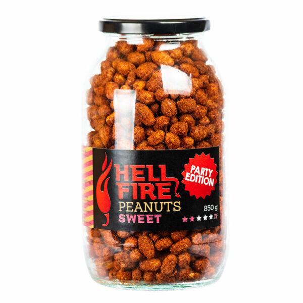 Hellfire Peanuts Sweet party edition ljuti kikiriki 850g 1
