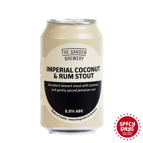 Garden Brewery Imperial Coconut & Rum Stout 0,33l 1