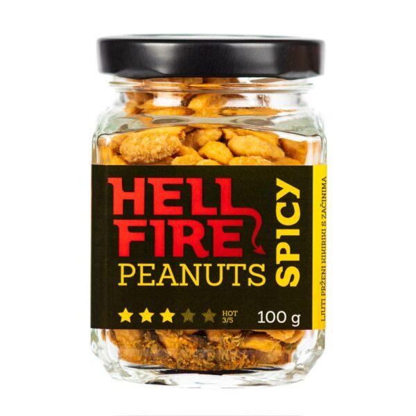 Hellfire Peanuts Spicy ljuti kikiriki 100g 2