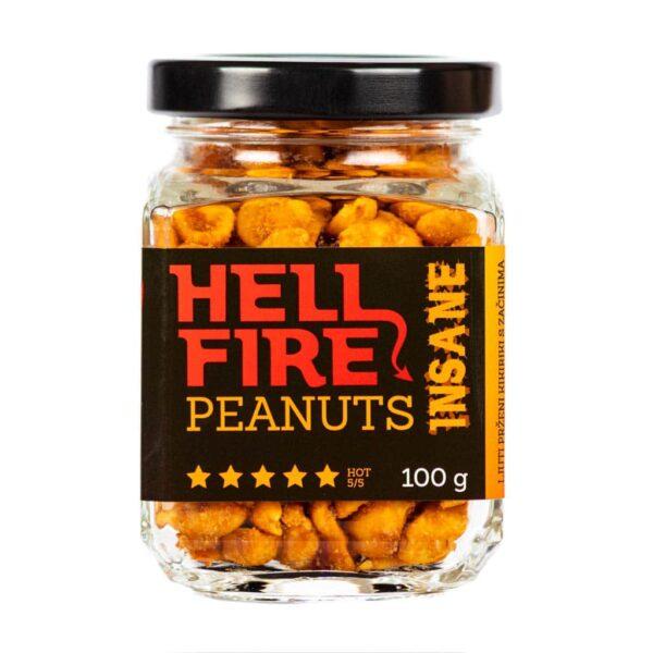Hellfire Peanuts Insane ljuti kikiriki 100g 2
