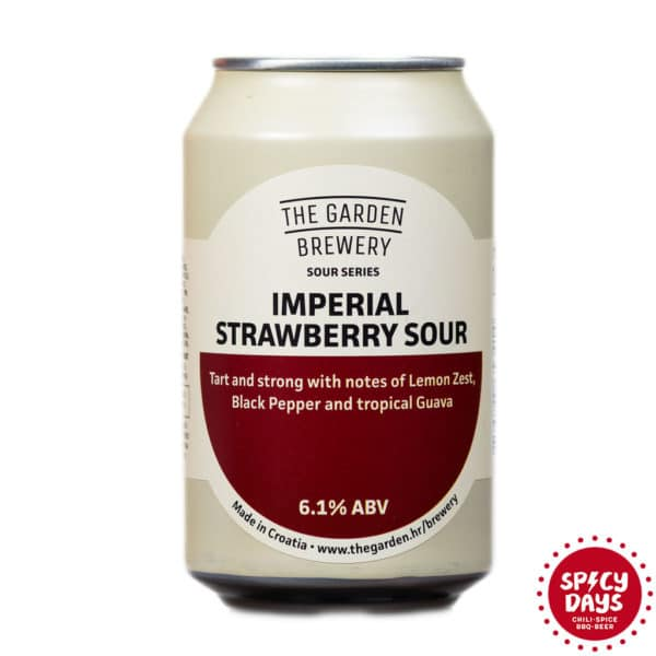 Garden Brewery Strawberry Imperial Sour 0,33l 1