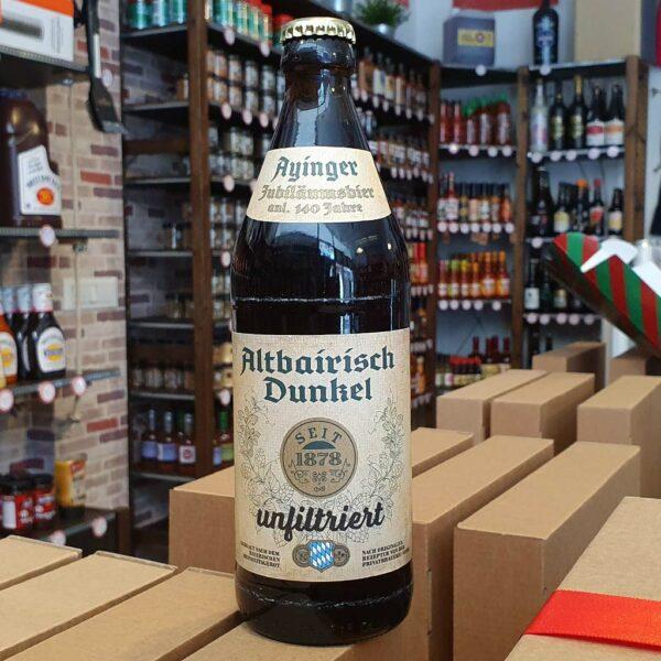Ayinger Altbairisch Dunkel Unfiltriert 0,50l 1