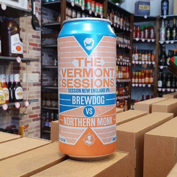 BrewDog vs Northern Monk: The Vermont Sessions 0,44l 1