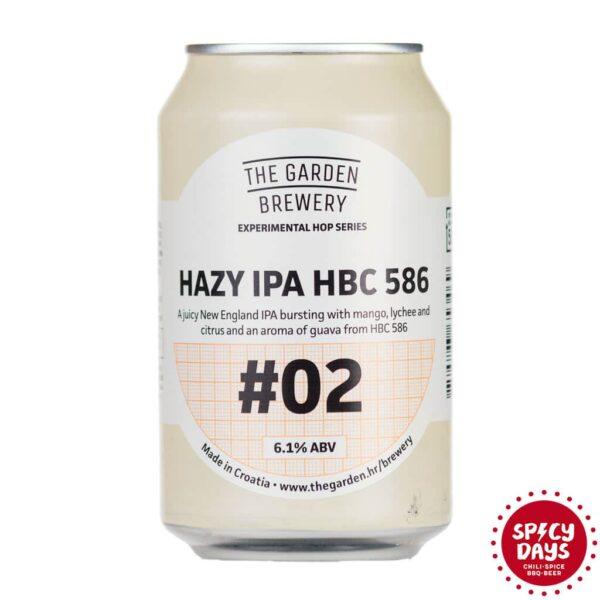 Garden Brewery Hazy IPA HBC 586 0,33l 1