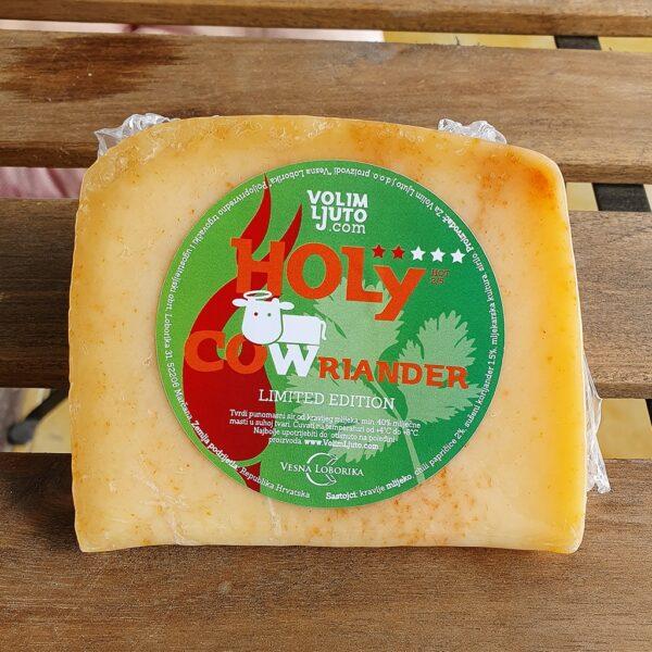 Holy Cowriander ljuti kravlji sir 330-390g 1