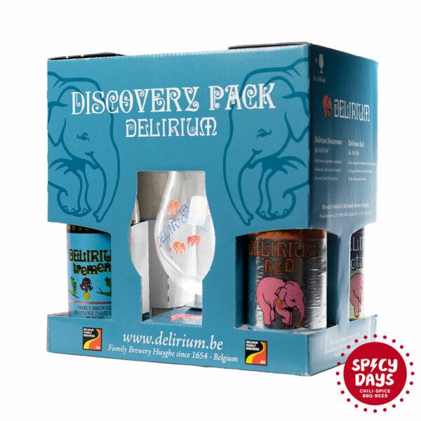Delirium Discovery Pack 4 x 0,33l i čaša 1