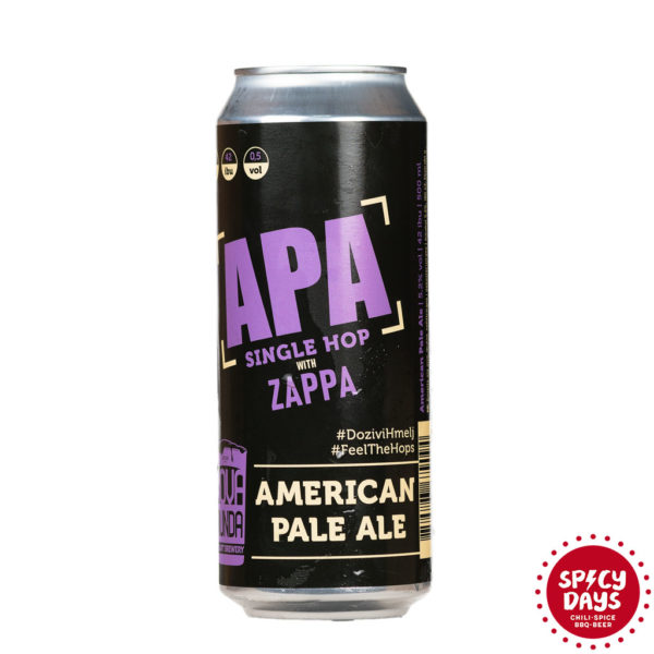 Nova Runda APA Single Hop: Zappa 0,50l 1