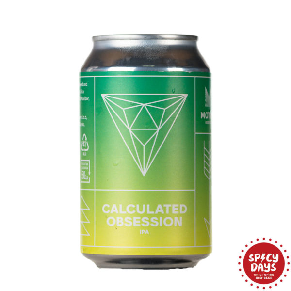 Motive Beer Company Calculated Obsession 0,33l 1