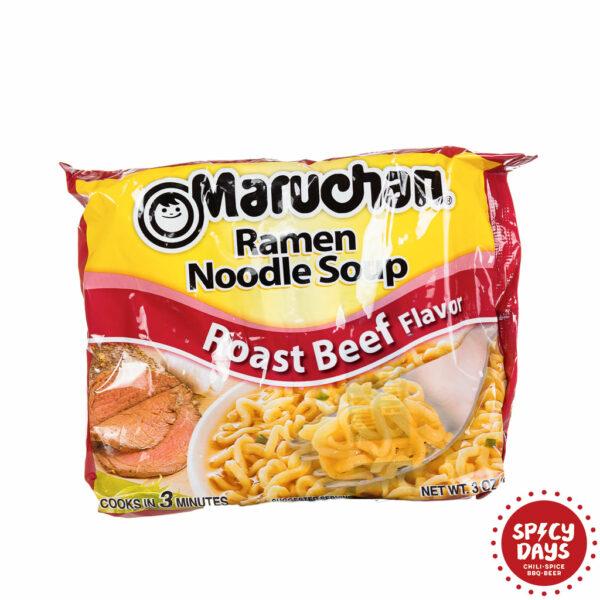 Maruchan Roast Beef Ramen Noodle Soup 85g 1