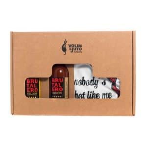 Brutalero poklon paket + Volim Ljuto majica 3