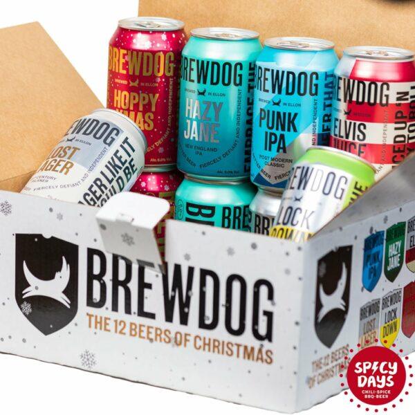 Brewdog poklon paket - 12 beers of Christmas (6x2x0,33l) 1