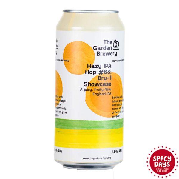 Garden Brewery Hazy IPA Hop #03: Bru-1 Showcase 0,44l 1