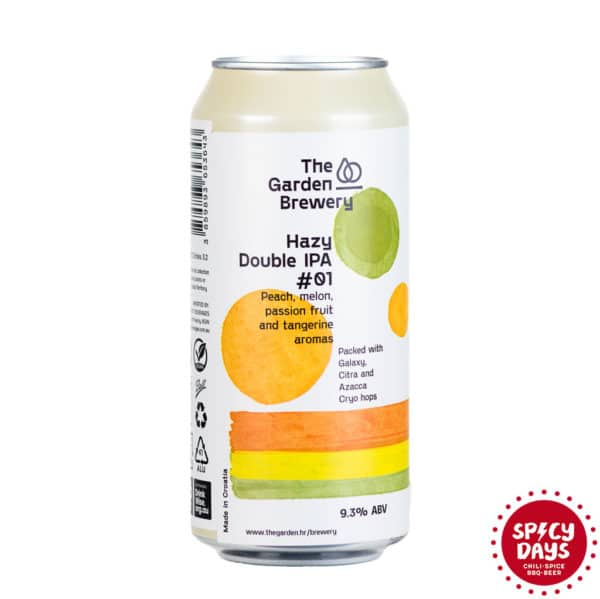 Garden Brewery Hazy Double IPA #01 0,44l 1
