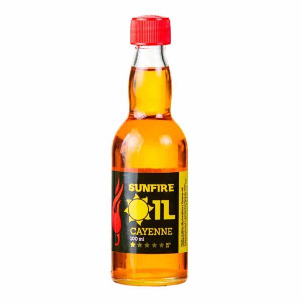 Sunfire Oil Cayenne - ljuto suncokretovo ulje 100ml 1