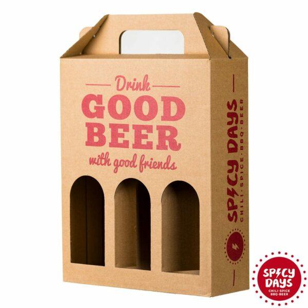 Poklon kutija - nosiljka za 3x0,33l pivo 1