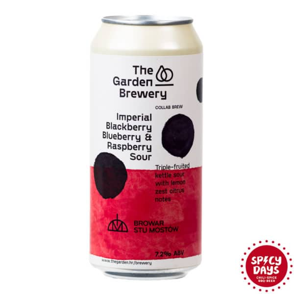 Garden Brewery Imperial Blackberry, Blueberry & Raspberry Sour 0,44l 1