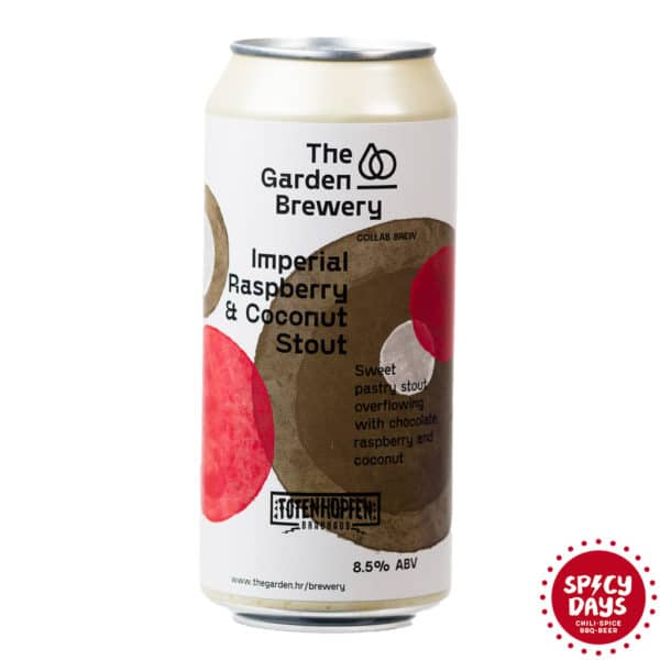 Garden Brewery Imperial Raspberry & Coconut Stout 0,44l 1