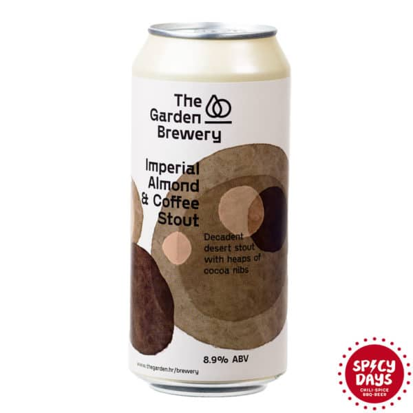 Garden Brewery Imperial Almond & Coffee stout 0,44l 1