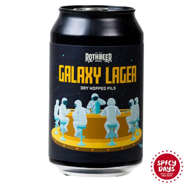 Rothbeer Galaxy Lager 0,33l 1