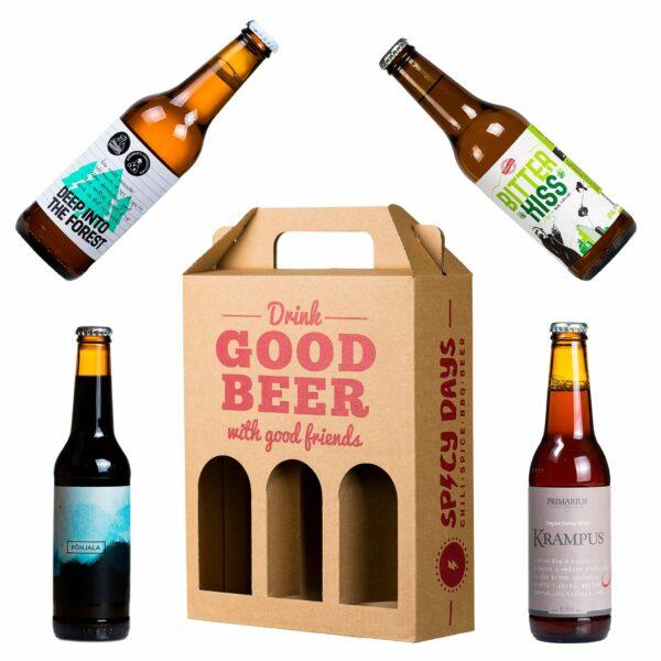 Složi svoj poklon paket piva (3 manje boce) 1