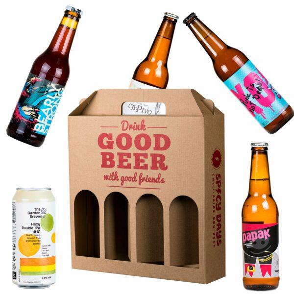 Složi svoj poklon paket piva (velike i male boce) 1