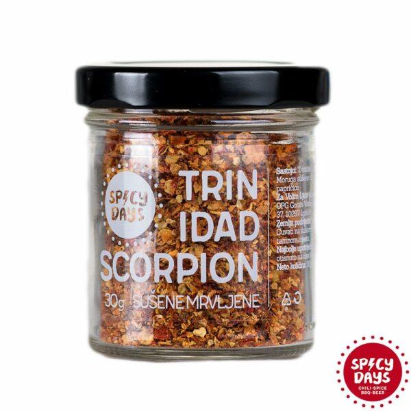 Trinidad Scorpion sušene mrvljene chili papričice 30g 1