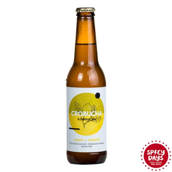 Crobucha Limun - Đumbir 0,33l - kombucha 1