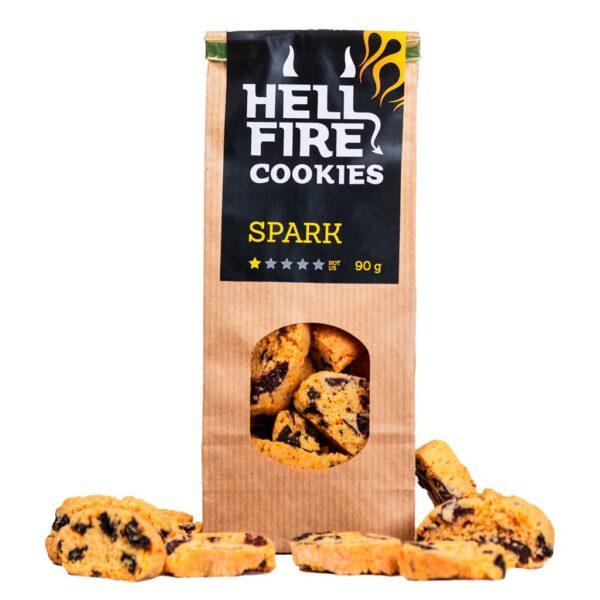 Hellfire Cookies Spark 90g - ljuti čokoladni keksi 1