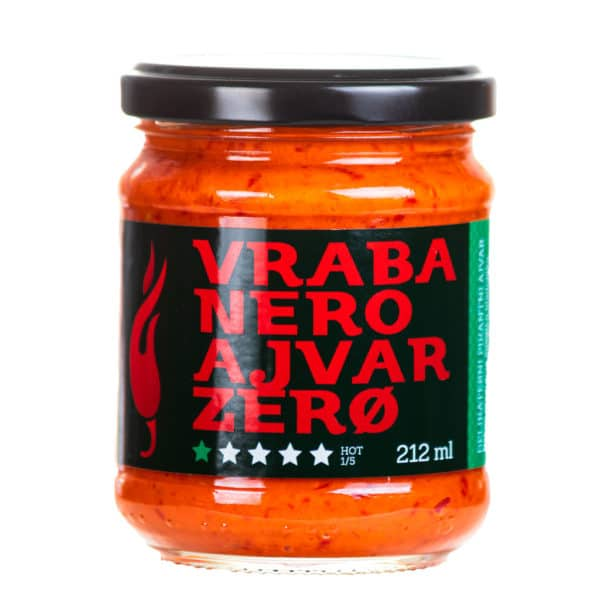 Vrabanero Ajvar Zero 212ml 1