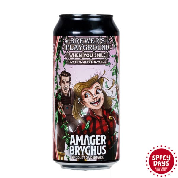 Amager Brewer's Playground - When you smile 0,44l 1