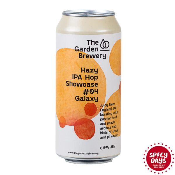 Garden Brewery Hazy IPA Hop Showcase #04 Galaxy 0,44l 1