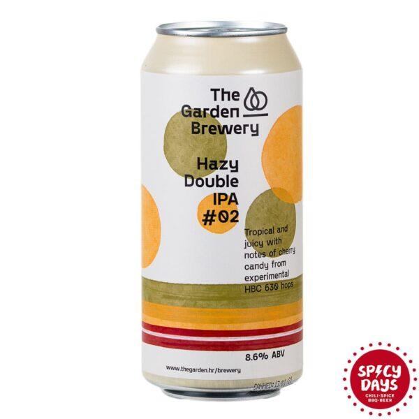 Garden Brewery Hazy Double IPA #02 0,44l 1