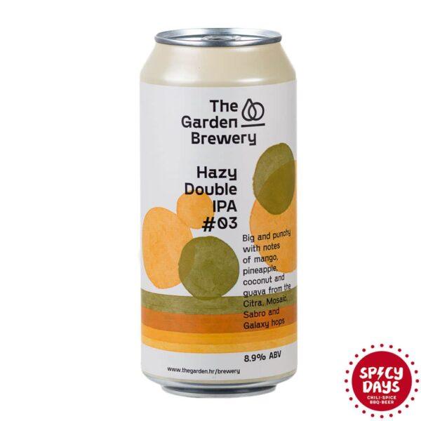 Garden Brewery Hazy Double IPA #03 0,44l 1
