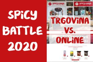 Spicy Battle 2020. - Webshop vs. Trgovina 1