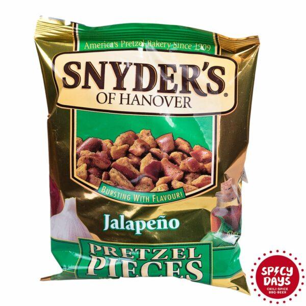 Snyder's Pretzel Pieces Jalapeno 125g 1