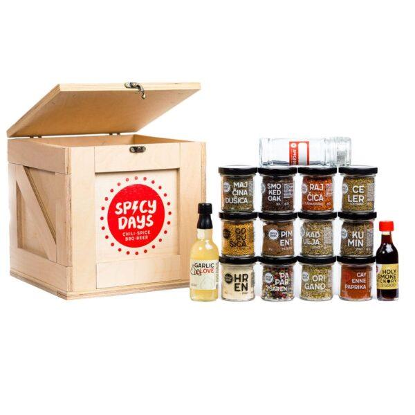 Spicy Crate - Spice Lover - poklon paket 1