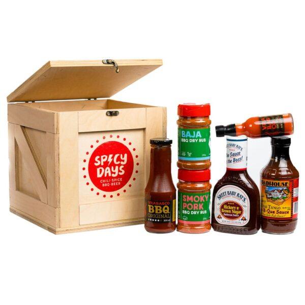 Spicy Crate - BBQ Lover - poklon paket 1