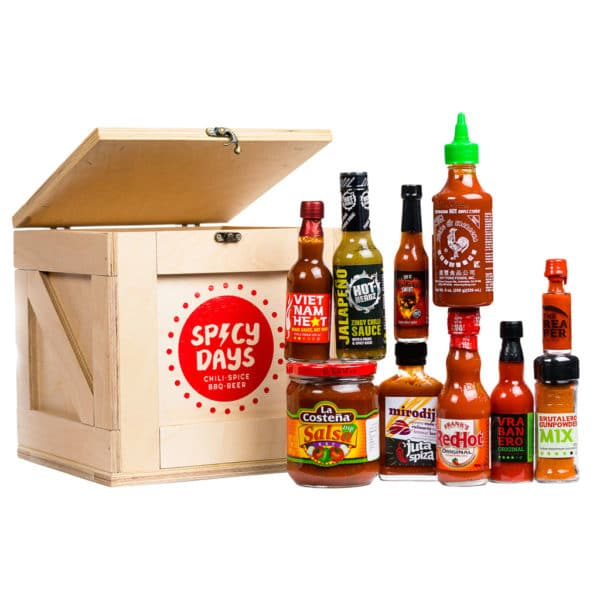 Spicy Crate - Chili Lover - poklon paket 1