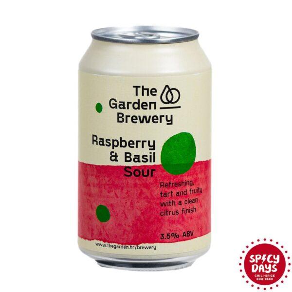 Garden Brewery Raspberry & Basil Sour 0,33l 1