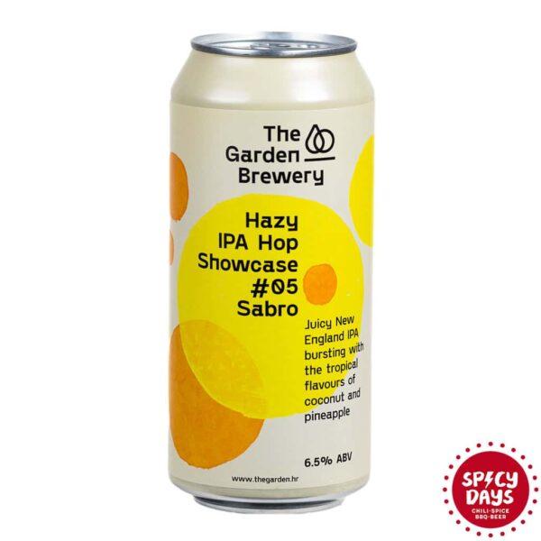 Garden Brewery Hazy IPA Hop Showcase #05 Sabro 0,44l 1
