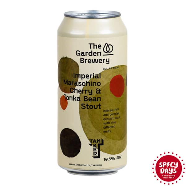 Garden Brewery / Tanker - Imperial Maraschino Cherry & Tonka Bean Stout 0,44l 1