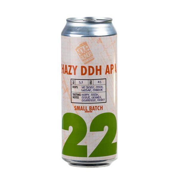 Nova Runda Small Batch Series 22 - Hazy DDH APA 0,50l 1