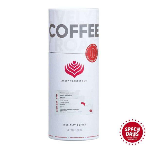 Lively Roasters Co. specialty kava u zrnu - Costa Rica Dota AA 250g 1