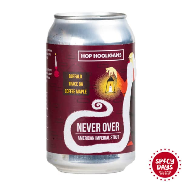 Hop Hooligans Never Over: Buffalo Trace BA Coffee Maple 0,33l 1