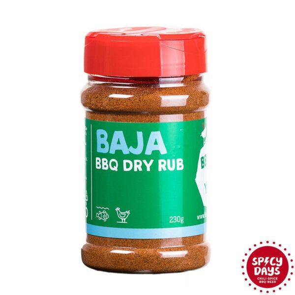 Baja BBQ Dry rub mješavina začina za roštilj 230g 1