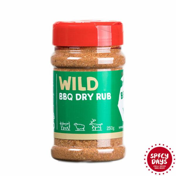 Wild BBQ Dry rub mješavina začina za roštilj 250g 1