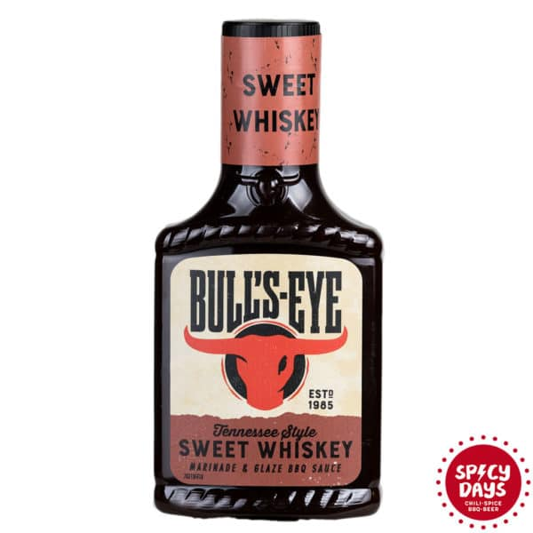 Bull's Eye Sweet Whiskey BBQ umak 365g 1